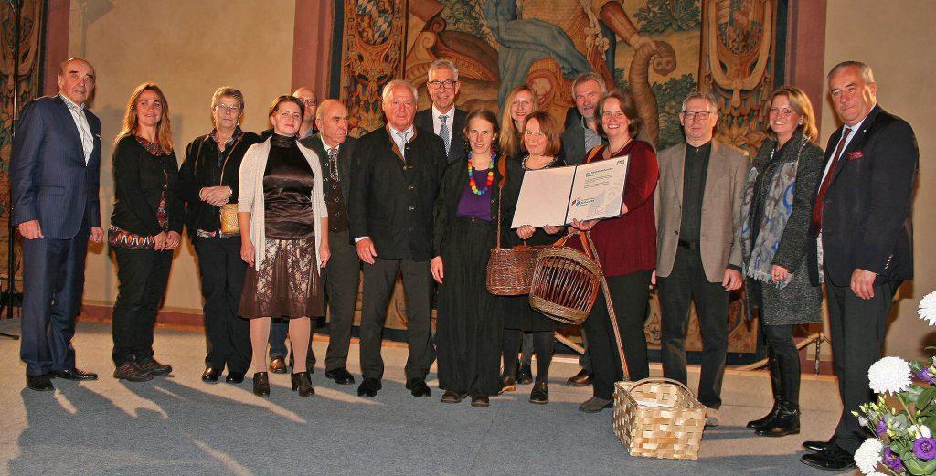 Verleihung Immaterielles Kulturerbe in Bayern