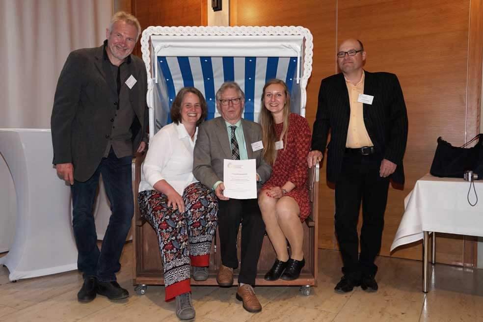 Vorstand bei der Verleihung in Baden-Württemberg
