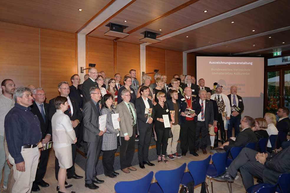 Verleihung Immaterielles Kulturerbe in Baden-Württemberg